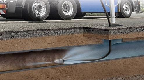 Nos camions haute pression permettent un complet nettoyage de canalisation.